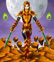 Blood Elf by Spacegryphon