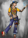 Nadezhda the Psi-ngineer by Spacegryphon