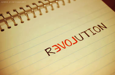rEVOLution by Adida007