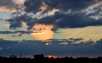Sunset 29oct2011 by Adida007