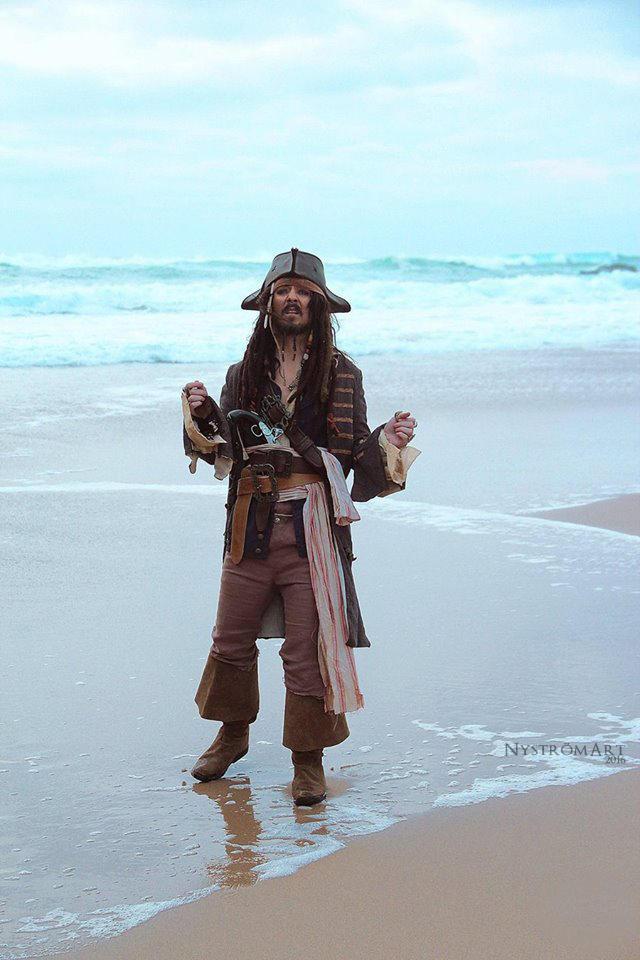 Captain Jack Sparrow by Kasdeya-V