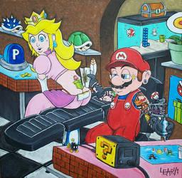 Super Mario Slingdown by Prota-J