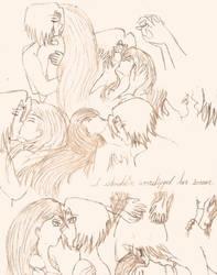 Worship (sketch) by HerMajestyVB