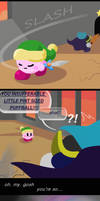 Kirby Universe: catch and release by CornyowL