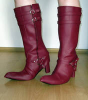 Ao no Exorcist Mephisto Boots by kayleighloire