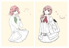 HH: Yuuya | Hikari by Zukizaki