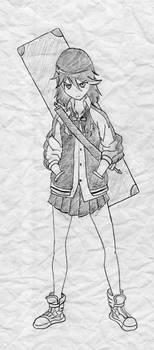 Kill la Kill - Ryuko Matoi by jlochoap