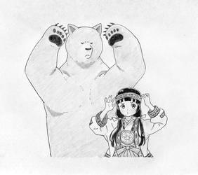 KumaMiko Dancing by jlochoap