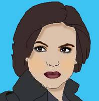 Regina cartoon by CaptainSwanForever