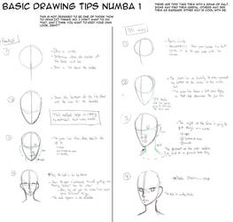 Drawing Tips - Heads by Kataoi