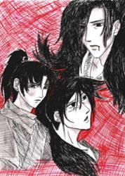 Ninja and Samurai by deathsxaxgame