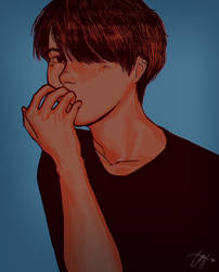 boy who has a crush by AnaissuBab