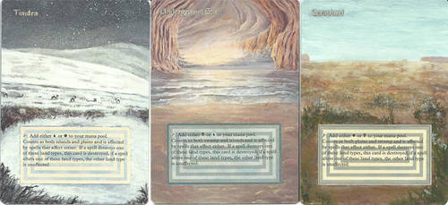 Dual Land Trio by Victor-Surge