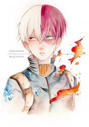 BNHA : Todoroki Shoto by furicchin