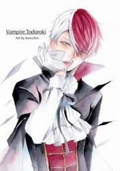 Vampire Todoroki by furicchin