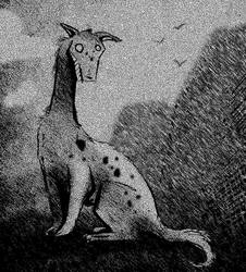Giraffe Dog by SirHagfish