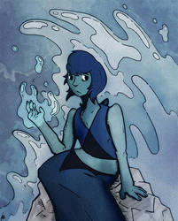 Lapis Lazuli by SirHagfish