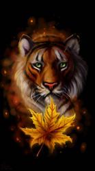 Autumn tiger by SalamanDra-S
