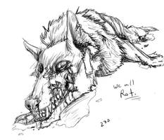 Rotting Wolf by McFlabwobble