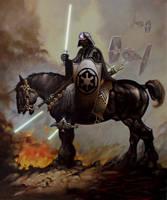Vader-Frazetta mashup by ijacker
