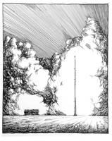 Radio Tower (Nebraska) by outsidelogic