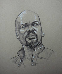 Othello (Inktober Day 1) by outsidelogic