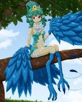 Yakitori the Harpy by Damaged927