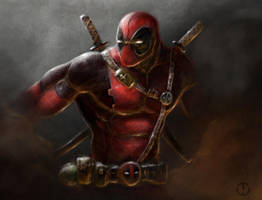 Deadpool by TomallicA