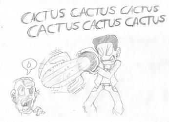 Dead Rising Cactus Chant by barrel-kun