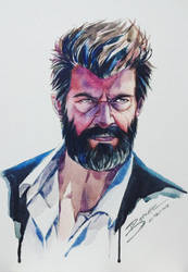 Wolverine fan art by Banzayaz