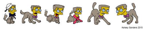 Smithers Dog Collage Number Twelve by KelseyEdward