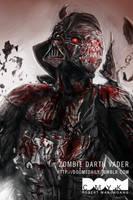 Zombie Darth Vader by DoomCMYK
