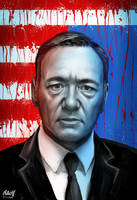 House of Cards fan art by DoomCMYK