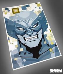 Wolverine Digital fan art by DoomCMYK