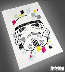 Stormtrooper CMYK fan art by DoomCMYK