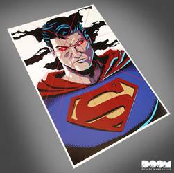 Superman fan art by DoomCMYK