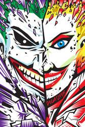 Joker and Harley Quinn by DoomCMYK