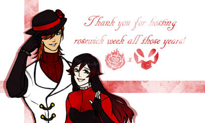 Thank you rosewick-week-official by ehrehnii