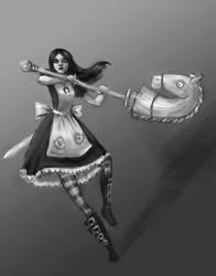Day 6# Alice:Madness Returns by merkerinn