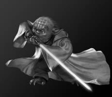 Day #20 Yoda by merkerinn