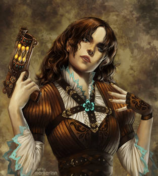 Steam Girl by merkerinn