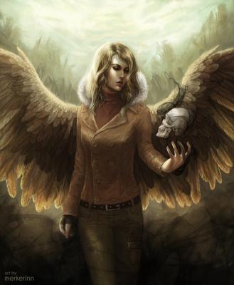 Angel of Revival by merkerinn