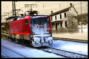 Train Time Travel by corvintaurus