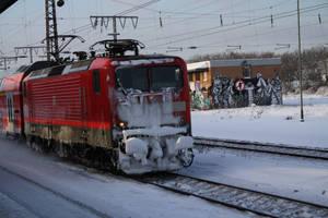 modern Train by corvintaurus
