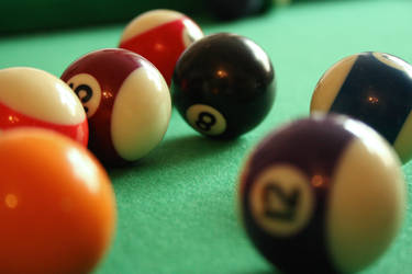 Billiard balls by corvintaurus