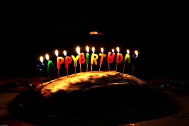 Birthday Cake by corvintaurus