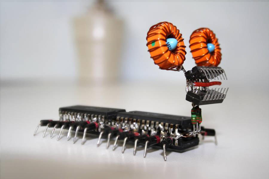 computer bug by corvintaurus