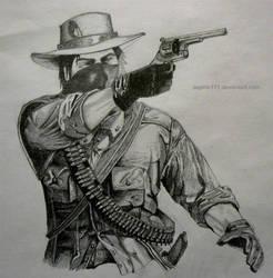Red Dead Redemption by aspirin111