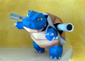Blastoise papercraft by LordBruco