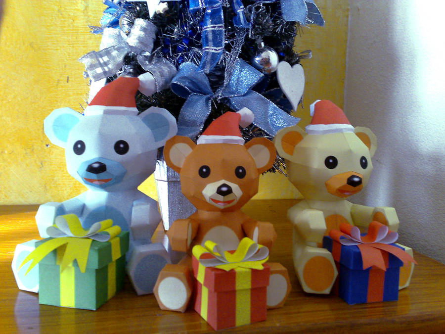 Christmas papercraft by LordBruco